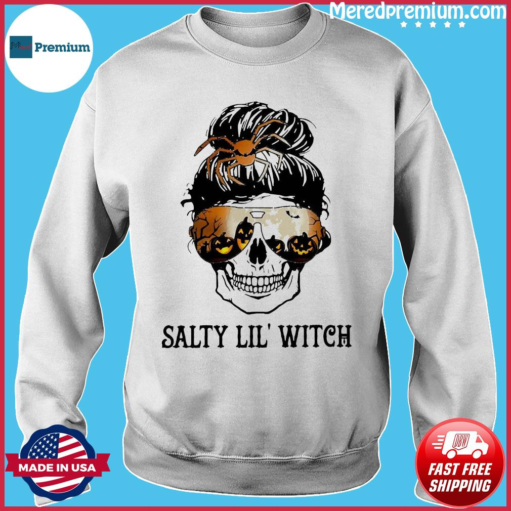 Skull salty lil' witch s Sweater
