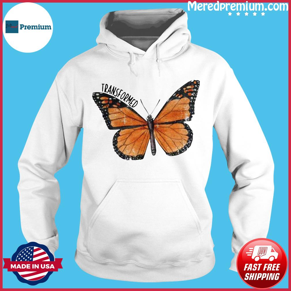 Transformed Butterfly s Hoodie