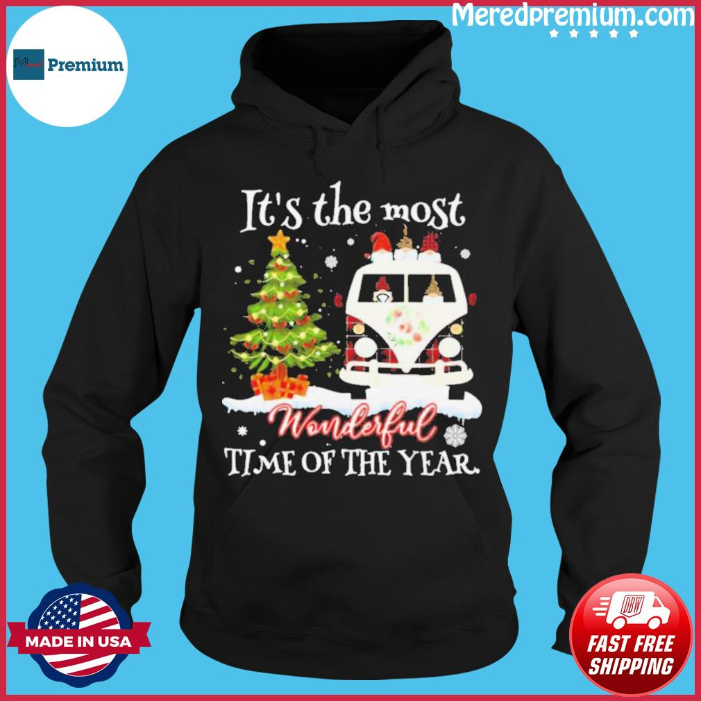Christmas Gnomies It's The Most Wonderful Time Of The Year s Hoodie