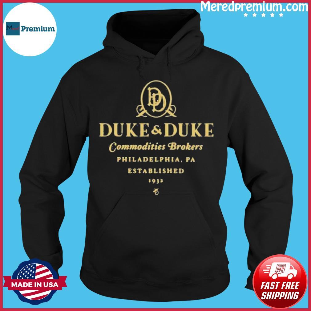 Duke And Duke Commodities Brokers Philadelphia Pa Established 1932 s Hoodie