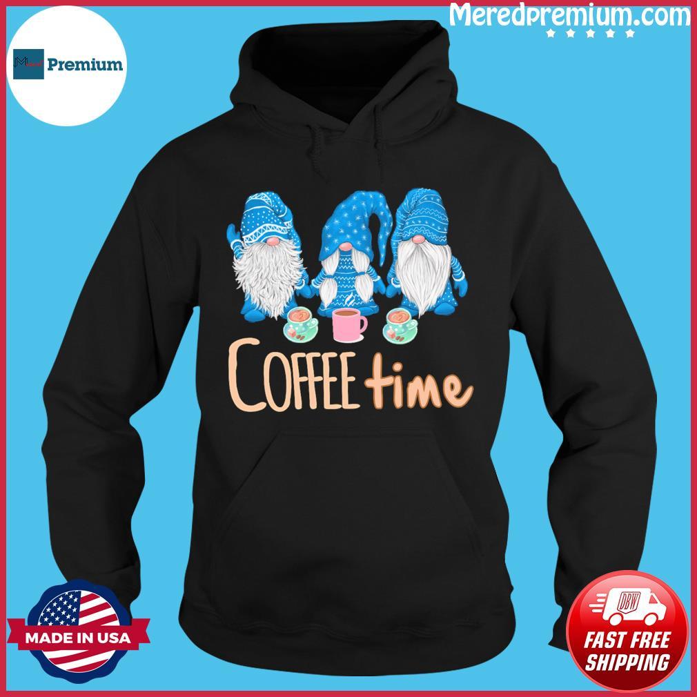 Gnomes Coffee Time Christmas Sweats Hoodie