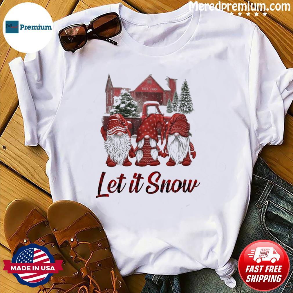 Gnomes Let It Snow Christmas Sweatshirt