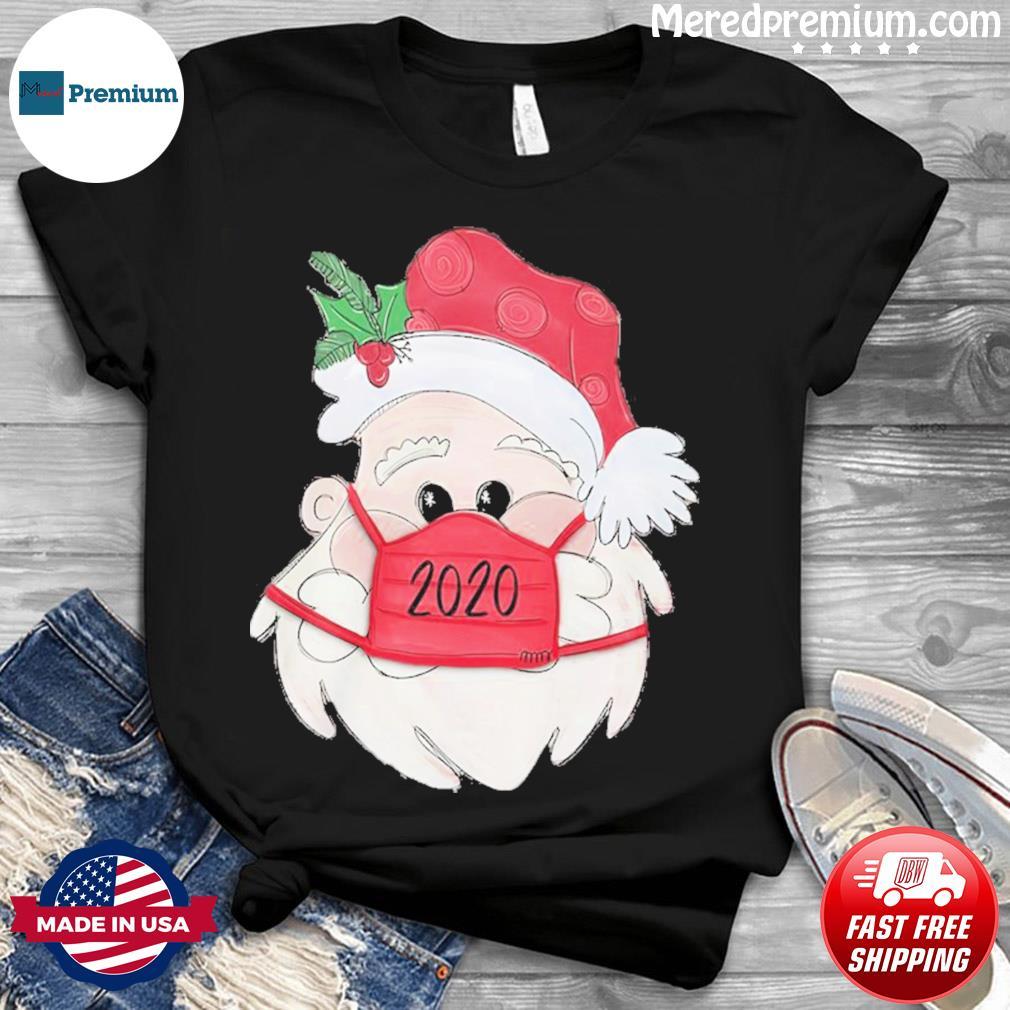 Santa Claus Face Mask 2020 Christmas Sweatshirt