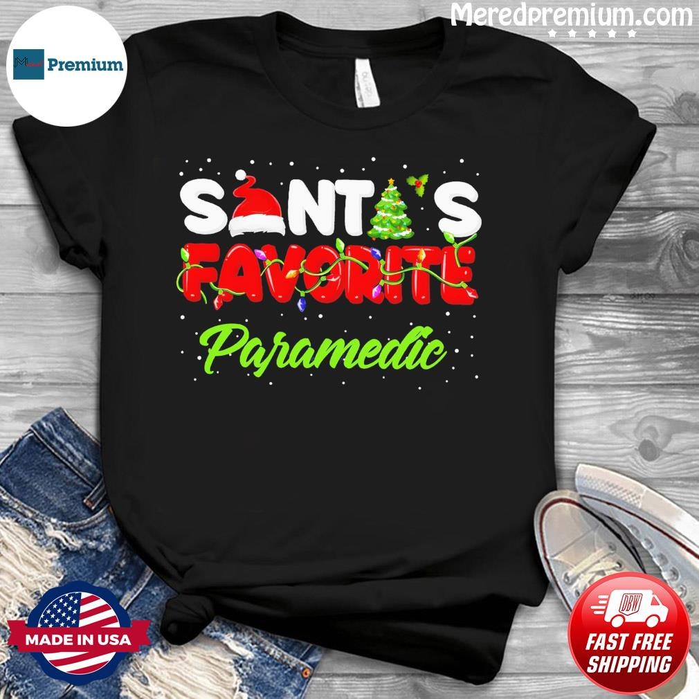Santa's Favorite Paramedic Christmas Sweatshirt