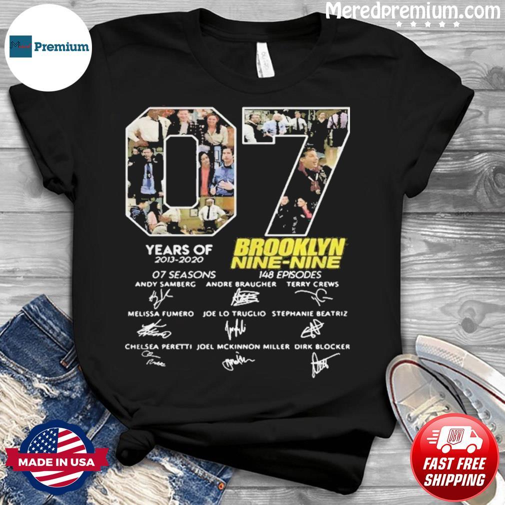 7 Years Of Brooklyn Nine Nine Signature Shirt